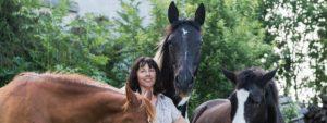 Ursula Schuster und ihre Pferde